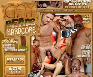 Welcome to Gay Bears Hardcore - hairy gays in extreme anal fuck xxx!